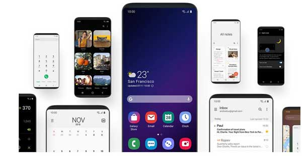 Download Samsung One Ui Background Wallpaper Techtrickz