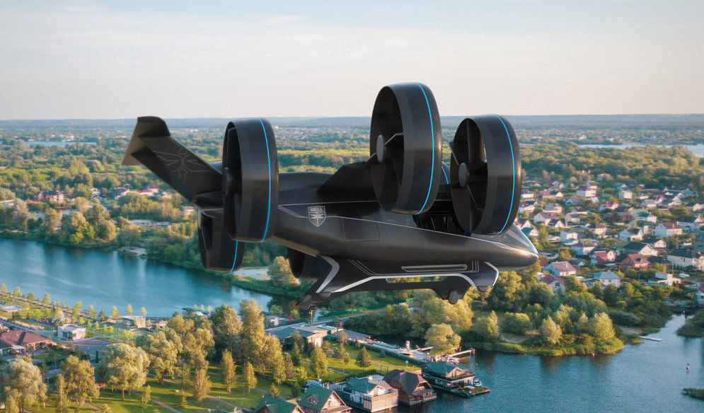 Bell's Nexus shows off the prototype of Air Taxi (Flying Car) at CES 2019