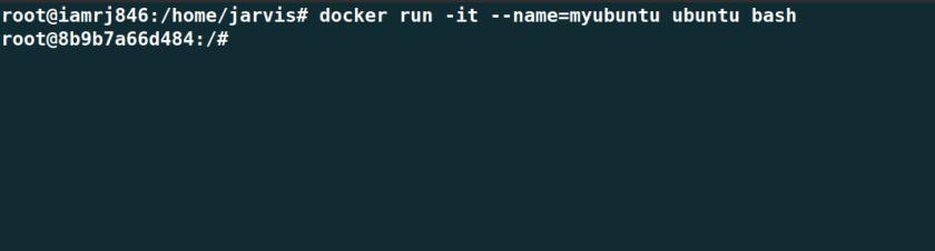 Run a Docker Container