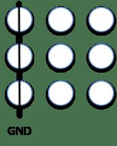 Led Matrix only GND
