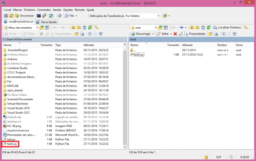 Linkit Smart WinSCP transfer file to host.png