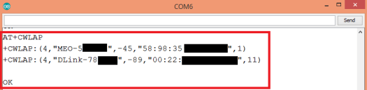 WiFi Bee AT commands list AP