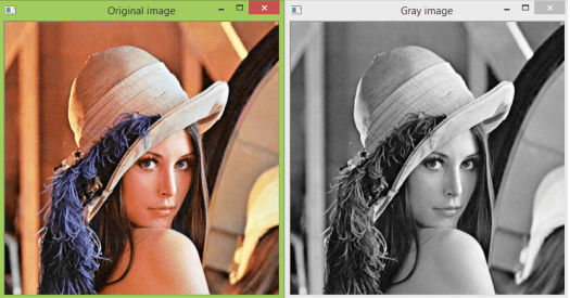 Converting image to gray scale using Python and OpenCV