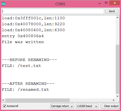 ESP32 Arduino SPIFFS rename file