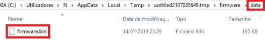 Final content of the data folder.