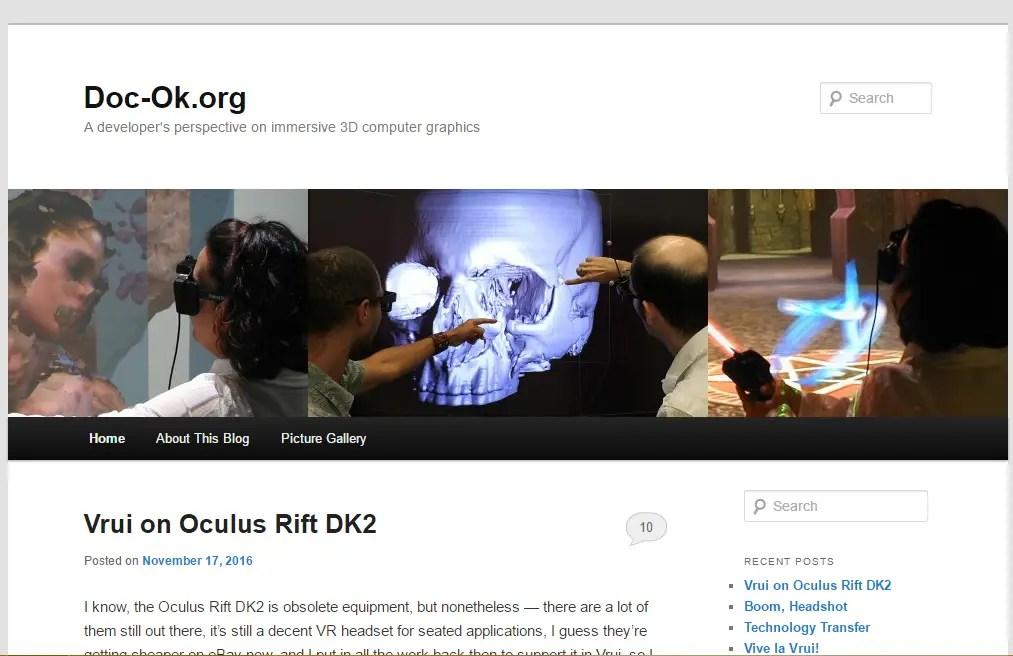 Doc-Ok - Best Virtual Reality Websites