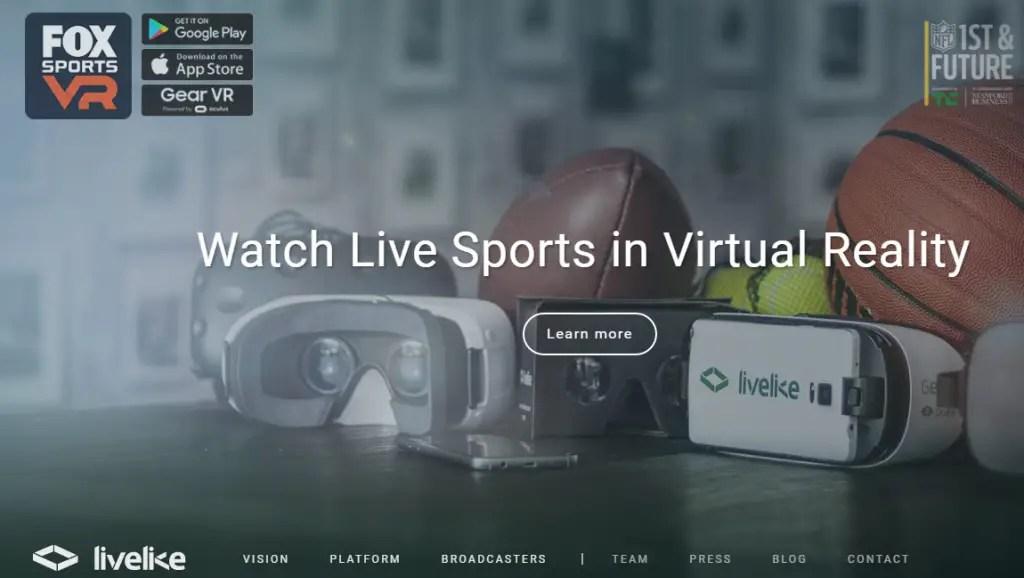 Live Like VR - Best Virtual Reality Websites