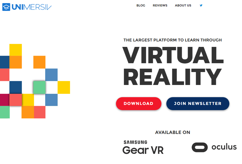 Unimersiv - Best Virtual Reality Websites