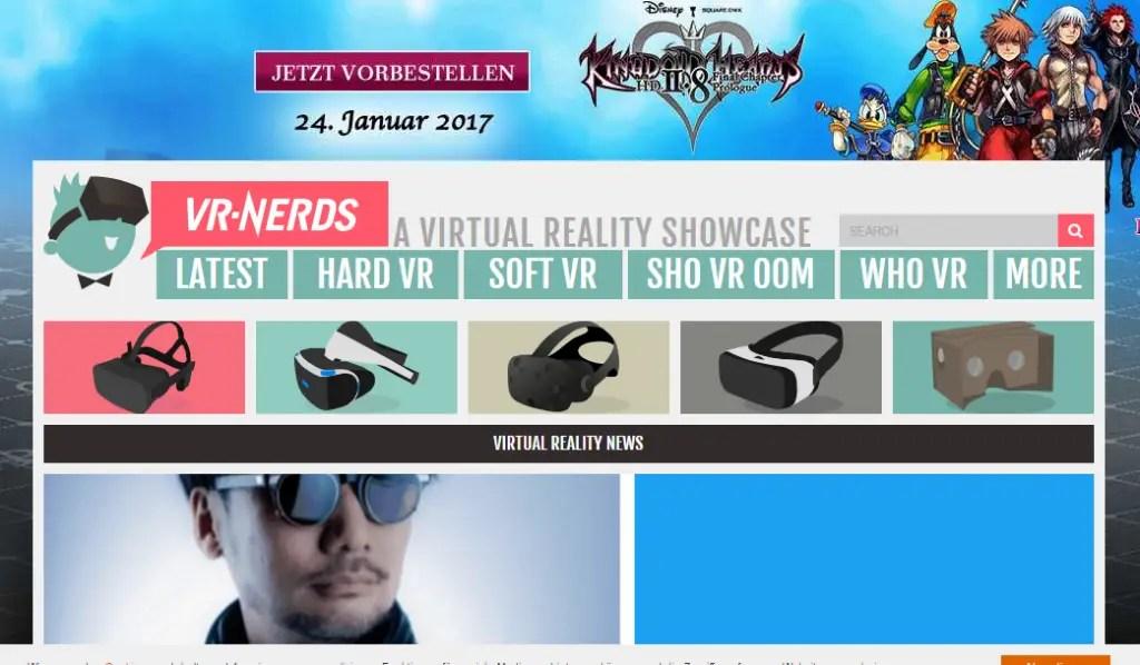 VR Nerds - Best Virtual Reality Websites