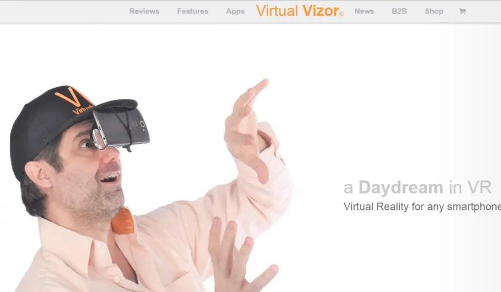 Virtual Vizor - Best Virtual Reality Websites