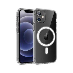 جراب Recci MagSafe شفاف لأيفون 12...