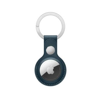 Apple AirTag Leather Key Ring -...