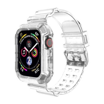 Apple Watch Transparent Band Compatible with 44mm/42mm