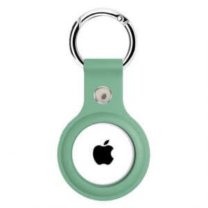 Airtag Silicone Case Chain – Green