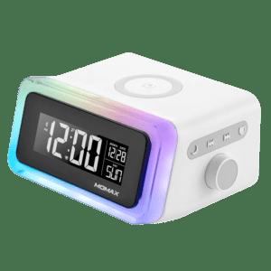ساعة رقمية مع شاحن وايرليس Momax Q.Clock 2