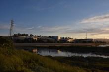 Faceboos neue Firmenzentrale liegt idyllisch an der San Francisco Bay...