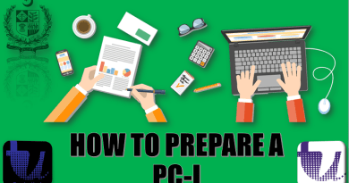 HOW TO PREPARE A PC-I | PC-I TO PC-V TUTORIAL STEP BY STEP | PC-I PREPARATION | PART 3/7[Urdu/Hindi] 3