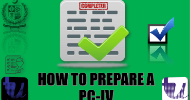 HOW TO PREPARE A PC-IV | PC-I TO PC-V TUTORIAL STEP BY STEP IN URDU | PART 5/7 2