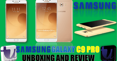 SAMSUNG GALAXY C9 PRO UNBOXING AND REVIEW | CAMERA AND VIDEO TESTS | PRICE IN PAKISTAN  [Urdu/Hindi] 2
