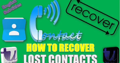 HOW TO RECOVER LOST MOBILE CONTACTS? ?? HOW TO TRANSFER PHONE CONTACTS TO A NEW PHONE [Urdu/Hindi] 1