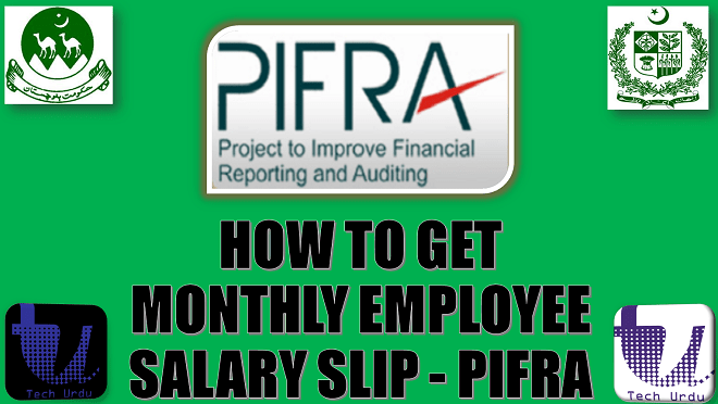 HOW TO GET MONTHLY EMPLOYEE SALARY SLIP ON EMAIL - PIFRA | STEP-TO-STEP GUIDELINES  [Urdu/Hindi] 1