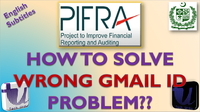 HOW TO SOLVE WRONG GMAIL/EMAIL ID PROBLEM ON PIFRA? HOW TO UNSUBSCRIBE EMAIL ID TO PIFRA[Urdu/Hindi]