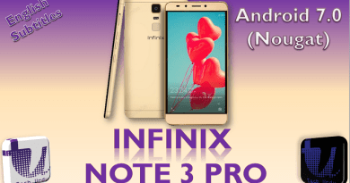 INFINIX NOTE 3 PRO WITH ANDROID NOUGAT 7.0 - UNBOXING AND FIRST IMPRESSION! PRICE DETAIL[Urdu/Hindi] 3
