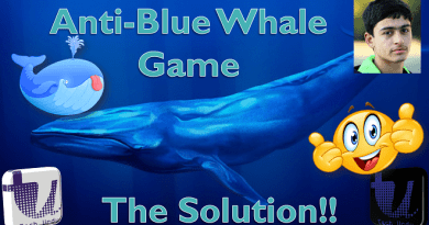 ANTI-BLUE WHALE GAME | THE BLUE WHALE GAME SOLUTION BY A PAKISTANI KID | ANTI BLUE WHALE[Urdu/Hindi] 4
