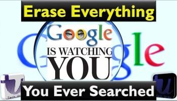 Erase Google Search Record