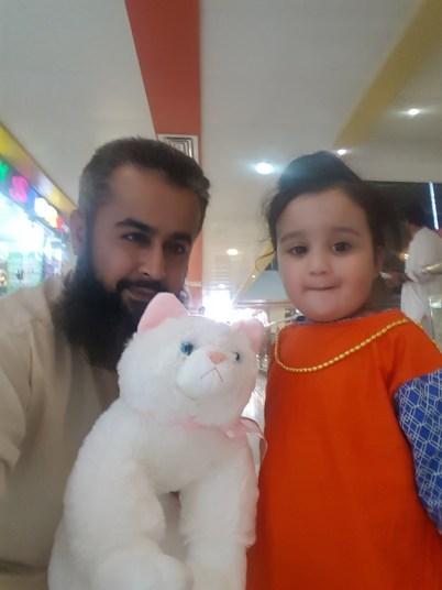 Naeem Javid - Tech Urdu - with Aarish Javid and Anya 20170404_195539