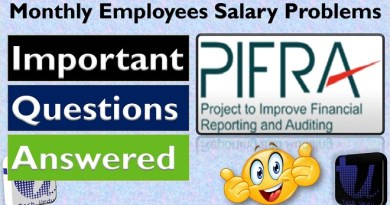 Monthly Employees Salary Problems PIFRA Tips - PIFRA Monthly Salary Slip
