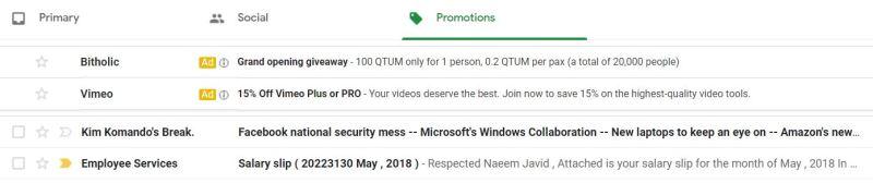 Pifra Slip in Promotions - Tech Urdu