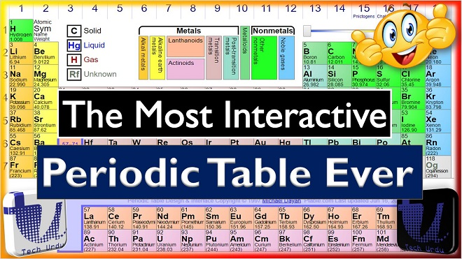 education learning apps reports and reviews - Dynamic Periodic Table App