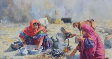 Pashtun Culture Depicted in PAINTINGS with Game of Thrones Rabab Music   Majestic Pakistan