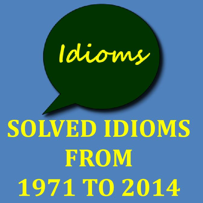 CSS Solved Idioms from 1971 to 2014