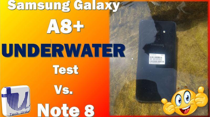 Samsung Galaxy A8/A8+ Underwater Performance 1
