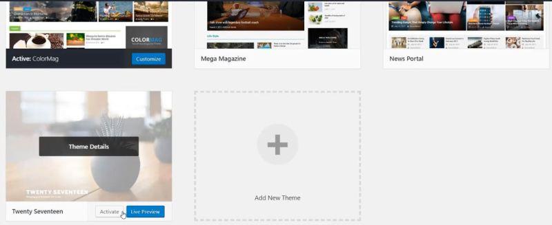 add new wordpress theme - Tech Urdu