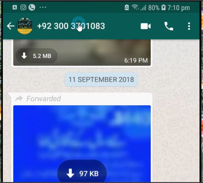 Identify Unknown WhatsApp Number