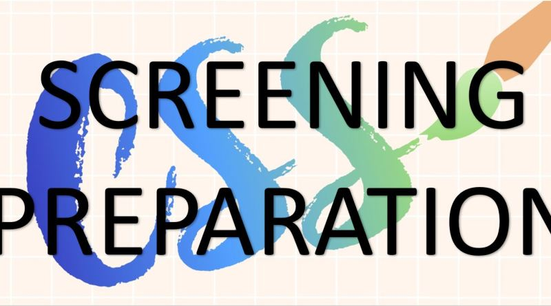CSS Screening Preparation