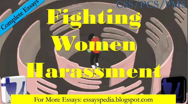 Fighting Women Harassment | Complete Essay with Outline