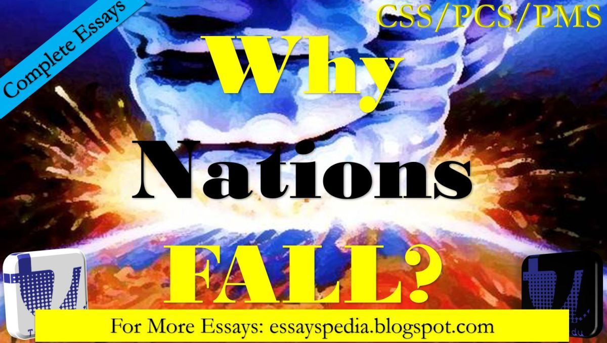Why Nations Fall? Elaborate in the Light of the Holy Quran | Complete Essay with Outline