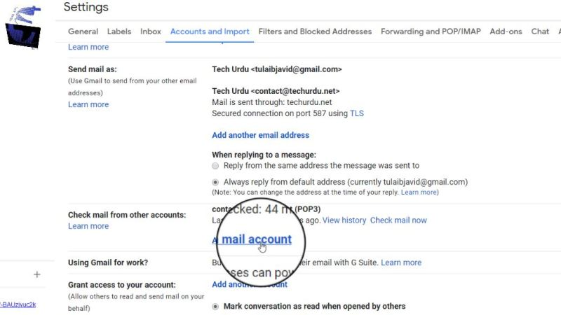 How to Create FREE Domain Email & Connect with Gmail (Step-by-Step) - Tech Urdu