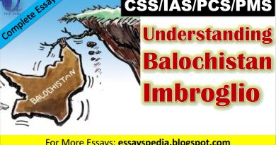 Understanding Balochistan Imbroglio   Complete Essay with Outline - Tech Urdu