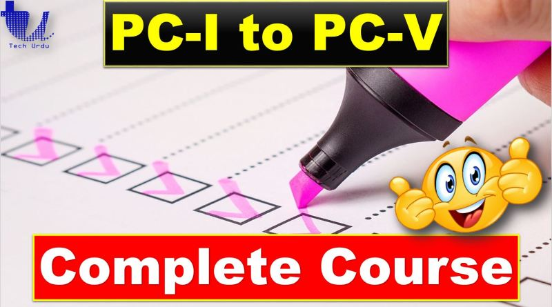 PC-I to PC-V Complete Course | Planning Commission & Planning Process