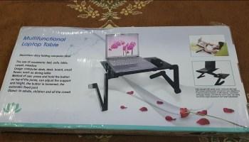 Multi-Functional 💻Laptop Table | Unboxing & Review - Tech Urdu