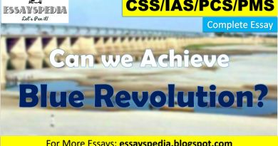 Can we Achieve Blue Revolution in Pakistan? | Complete Essay with Outline - techurdu.net