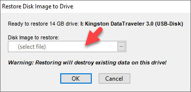 Select MacOS Mojave dmg File