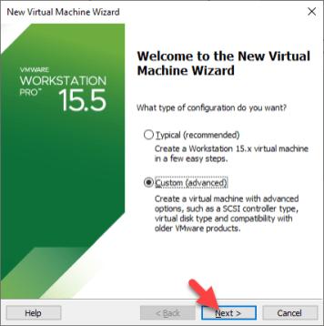 Vmware Welcome Wizard Setup