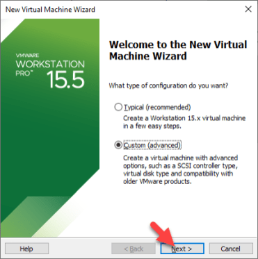 Vmware Welcome Wizard Setup
