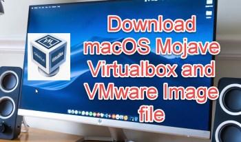 download macOS Mojave image file for Virtaulbox